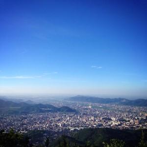 桐生市 吾妻山標高481m