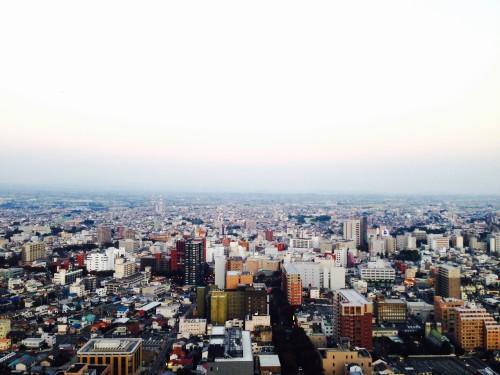 県庁からの眺め1