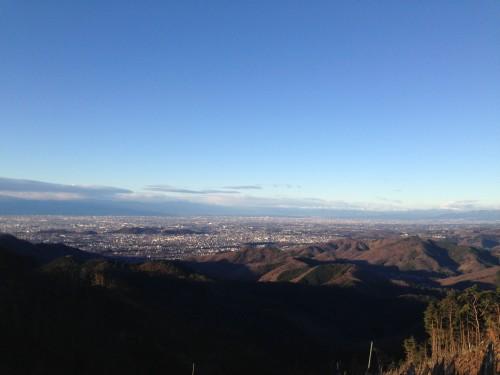 岡平からの眺め。