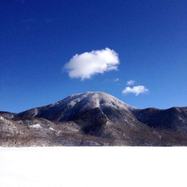 本日のお山。